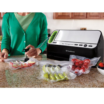 FoodSaver Automatic Vacuum Sealing System with Retractable Handheld Sealer