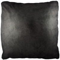 19X19 PILLOW - METALLIC BLACK