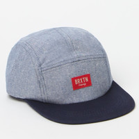 Brixton Hoover Navy and Light Blue Strapback Hat at PacSun.com