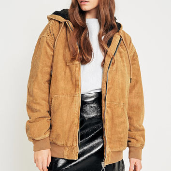 BDG Corduroy Borg-Lined Bomber Jacket | Urban Outfitters