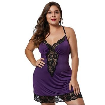Lace Trimmed Chemise