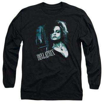 Harry Potter - Bellatrix Closeup Long Sleeve Adult 18/1 Officially Licensed Shirt