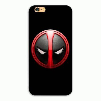 Marvel Hero Deadpool Head Hard Plastic phone Case Cover For iphone 4 4s 5 5s se 5c 6 6s plus 77plus 8 8plus
