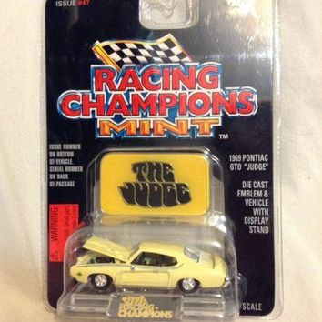 "1997 Racing Champions #47  ""Mint Edition"" 1969 PONTIAC GTO ""JUDGE"" w/Emblem"