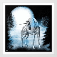 Winter Dreams Art Print by Texnotropio