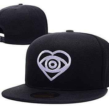 HAIHONG All Time Low Rock Band Logo Adjustable Snapback Caps Embroidery Hats - Black