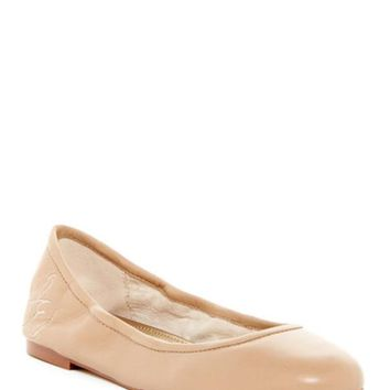 DCCKHB3 Sam Edelman | Fritz Leather Ballet Flat