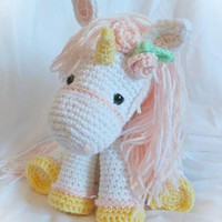 Unicorn; CROCHET PATTERN: PDF