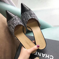 CHANEL High heeled shoes