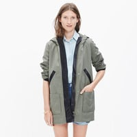 Madewell et Sézane® Beckett Hooded Jacket