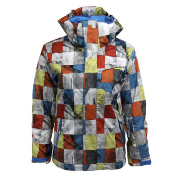 Quiksilver Boy's Mission Block Snowboarding Jacket