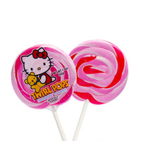 Hello Kitty Swirl 1.5-Ounce Twirl Pops: 24-Piece Display