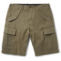 Rag & bone - Platoon Broken-Twill Cotton Shorts | MR PORTER