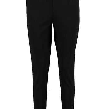 Harriet Pocket Scuba Crepe Tapered Trouser | Boohoo