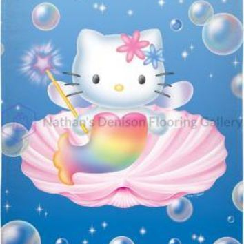 Hello Kitty Mermaid Beach Towel