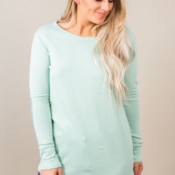 Take On The World Top- Mint