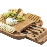 One Kings Lane - Picnic at Ascot - Malvern Cheese Board Set