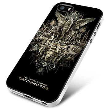 the hunger games cover iPhone 5   5S   5SE Case Planetscase.com