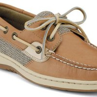 Sperry Top-Sider Bluefish 2-Eye Boat Shoe LinenOat, Size 8.5M  Women's Shoes