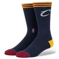 Stance Cavs Arena Logo NBA Court Socks in Black M558D5CAVS