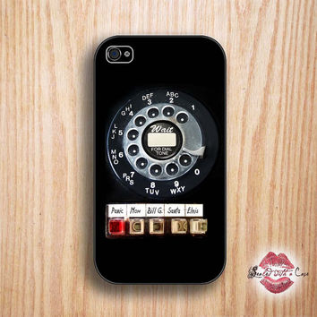 Vintage Rotary Phone - iPhone 4 Case, iPhone 4s Case and iPhone 5/5S/5C case
