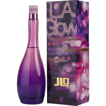 ICIKH0D LA GLOW by Jennifer Lopez EDT SPRAY 3.4 OZ