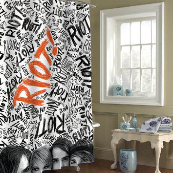 paramore special custom shower curtains that will make your bathroom adorable
