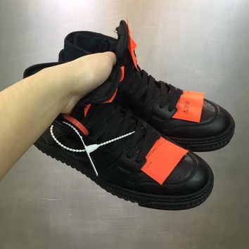 OFF-WHITE 2018 new casual shoes