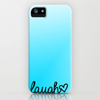laugh iPhone & iPod Case by Addison Diaz