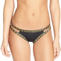 The Bikini Lab 'Weaving On a Jet Plane' Hipster Bikini Bottoms | Nordstrom