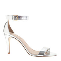 J.Crew Womens Mirror Metallic High-Heel Sandals