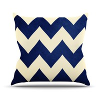 "Catherine McDonald ""Fleet Week"" Throw Pillow"