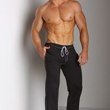 Athletic Low Rise Workout Pants - Black