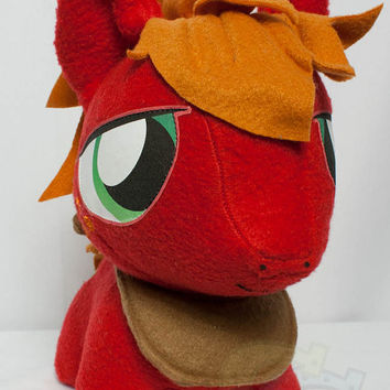 CHIBI Big Macintosh MLP Hand-Made Custom Craft Plush