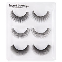 FOREVER 21 Eye Lash Trio Black One