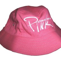 Victoria Secret Pink Sun Hat Unisex One Size Fits All