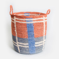 Seaport Storage Basket - Orange