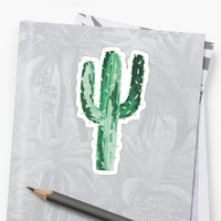 'cactus' Sticker by efara1