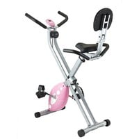 Sunny Health & Fitness Folding Recumbent Bike (Pink)