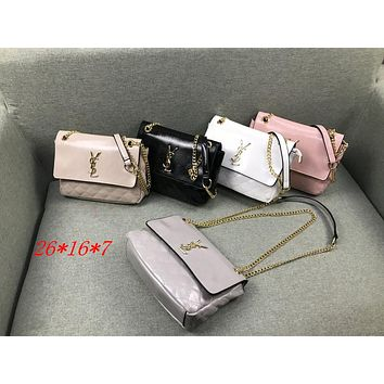 YSL 2019 new women's chain bag shoulder bag Messenger bag