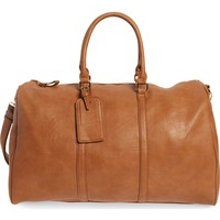 Sole Society 'Lacie' Faux Leather Duffel Bag | Nordstrom