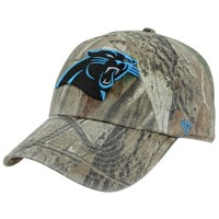 '47 Brand Carolina Panthers Franchise Fitted Hat - Realtree Camo