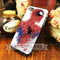 The Amazing Spiderman Painting - iPhone 4/4s/5/5S/5C Case - Samsung Galaxy S2/S3/S4 Case - Plastic/Rubber - Black or White