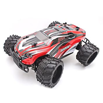 Electric RC Car 1:16 Scale Model 2WD Off Road High Speed Vehicle Toy Remote Control Car for Children