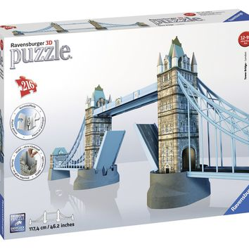 Tower Bridge London - 216 Piece 3D Jigsaw Puzzle