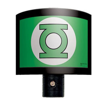 Green Lantern Logo Night Light