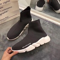 Balenciaga  Stretch fabric, casual sports shoes, socks boots