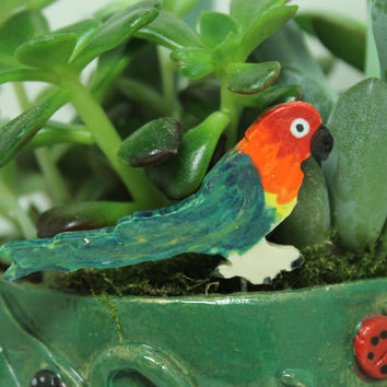 Conure Miniature plant stake Pot decoration