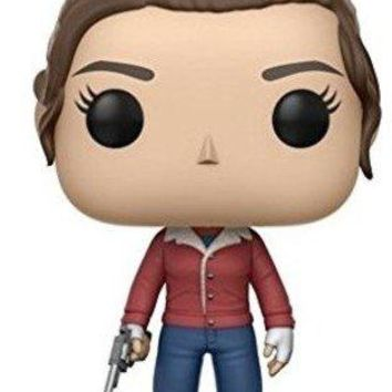 Funko Pop Television: Stranger Things-Nancy with Gun Collectible Figure