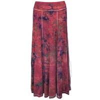 Tie Dye Maxi Skirt on Sale for $54.95 at HippieShop.com